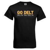 Black T Shirt-Go Delt