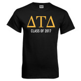 Black T Shirt-Class Of, Personalized