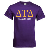 Purple T Shirt-Class Of, Personalized
