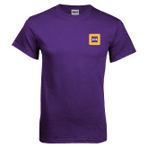 Purple T Shirt-Badge