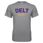Grey T Shirt-Delt Legacy