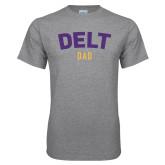 Grey T Shirt-Delt Dad