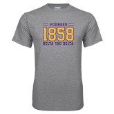 Grey T Shirt-Founded 1858