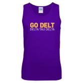 Purple Tank Top-Go Delt