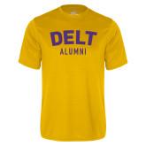 Syntrel Performance Gold Tee-Delt Alumni