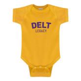 Gold Infant Onesie-Delt Legacy