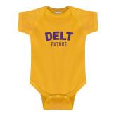 Gold Infant Onesie-Delt Future