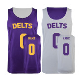 Purple/White Reversible Tank-Personalized