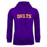 Purple Fleece Hoodie-Delts