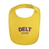 Yellow Baby Bib-Delt Future