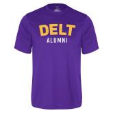 Syntrel Performance Purple Tee-Delt Alumni