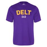 Syntrel Performance Purple Tee-Delt Dad