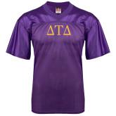 Replica Purple Adult Football Jersey-Greek Letters