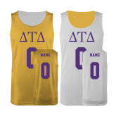 Gold/White Reversible Tank-Personalized