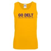 Gold Tank Top-Go Delt