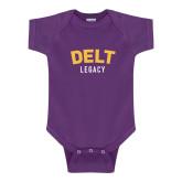 Purple Infant Onesie-Delt Legacy