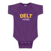 Purple Infant Onesie-Delt Future