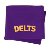 Purple Sweatshirt Blanket-Delts