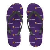 Full Color Flip Flops-Horizontal Signature