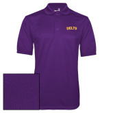 Purple Dry Mesh Polo-Delts