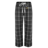 Black/Grey Flannel Pajama Pant-Horizontal Signature