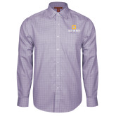 Red House Purple Plaid Long Sleeve Shirt-Stacked Signature