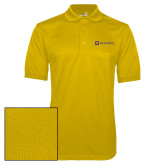Gold Dry Mesh Polo-Horizontal Signature