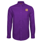 Red House Purple Long Sleeve Shirt-Badge