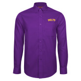Red House Purple Long Sleeve Shirt-Delts