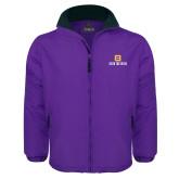 Purple Survivor Jacket-Stacked Signature