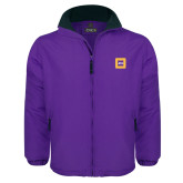 Purple Survivor Jacket-Badge