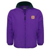 Purple Survivor Jacket-Badge