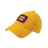 Gold Flexfit Mid Profile Hat-Badge