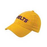 Gold Flexfit Mid Profile Hat-Delts