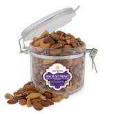 Deluxe Nut Medley Round Canister-Stacked Signature