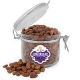 Almond Bliss Round Canister-Stacked Signature