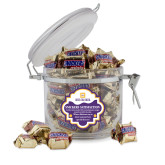 Snickers Satisfaction Round Canister-Stacked Signature