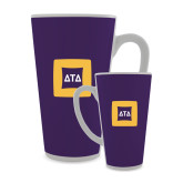 Full Color Latte Mug 17oz-Badge