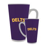 Full Color Latte Mug 17oz-Delts