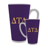 Full Color Latte Mug 17oz-Greek Letters
