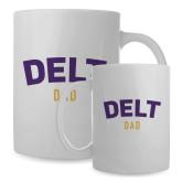 Dad Full Color White Mug 15oz-Delt Dad