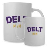 Mom Full Color White Mug 15oz-Delt Mom
