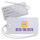 Luggage Tag-Stacked Signature