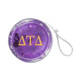 Light Up Purple YoYo-Greek Letters
