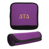 Neoprene Purple Luggage Gripper-Greek Letters