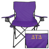 Deluxe Purple Captains Chair-Greek Letters