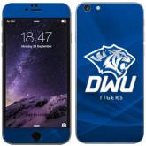 iPhone 6 Plus Skin-DWU Tigers w/ Tiger Head