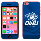 iPhone 5c Skin-DWU Tigers w/ Tiger Head