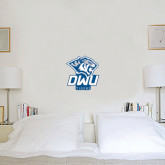 1 ft x 1 ft Fan WallSkinz-DWU Tigers w/ Tiger Head