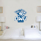 2 ft x 2 ft Fan WallSkinz-DWU Tigers w/ Tiger Head